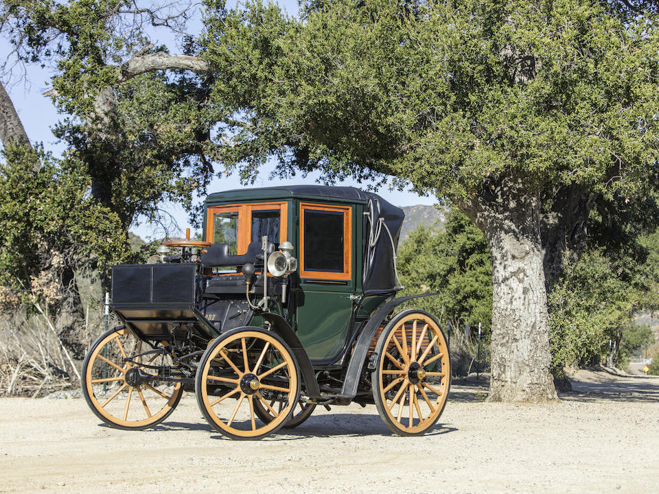 <b>c.1897 Benz 10hp Mylord-Coupe</b><br />Engine no. 74