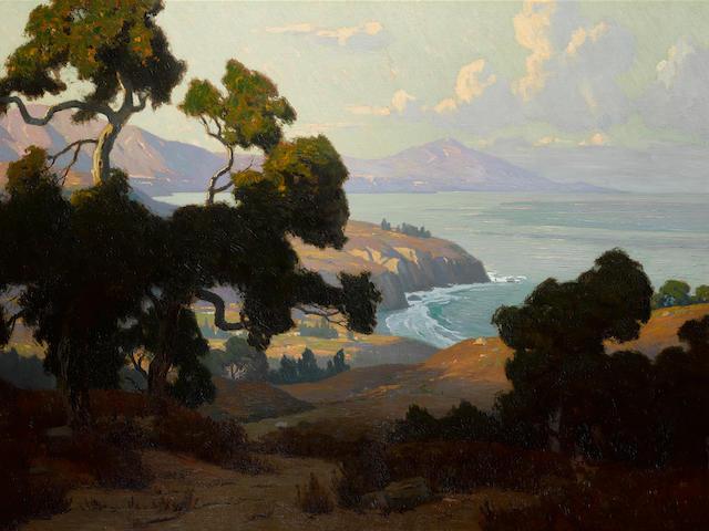 Elmer Wachtel (1864-1929) The California Coast 40 x 60in