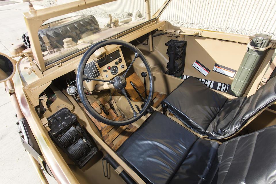 <b>1944 Volkswagen Type 166 'Schwimmwagen'</b><br />Chassis no. 7-009132
