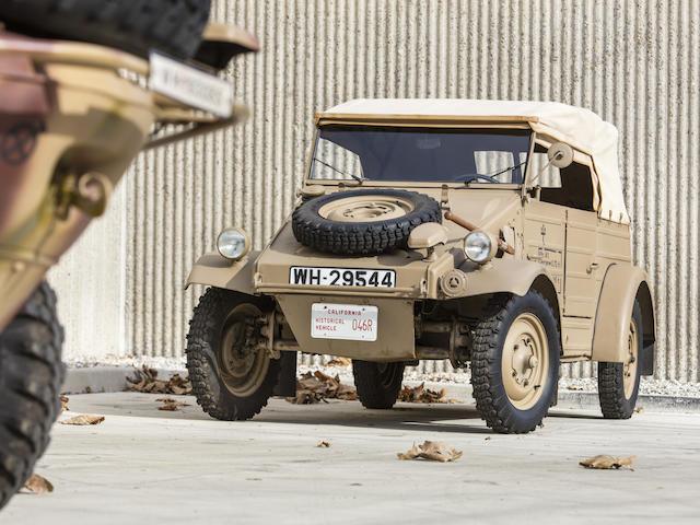 <b>1944 Volkswagen Type 82 'K&#252;belwagen'</b><br />Chassis no. 2-029544