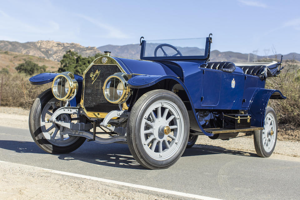 <b>1911 Benz 50hp Victoria</b><br />Chassis no. 7754<br />Engine no. 7754