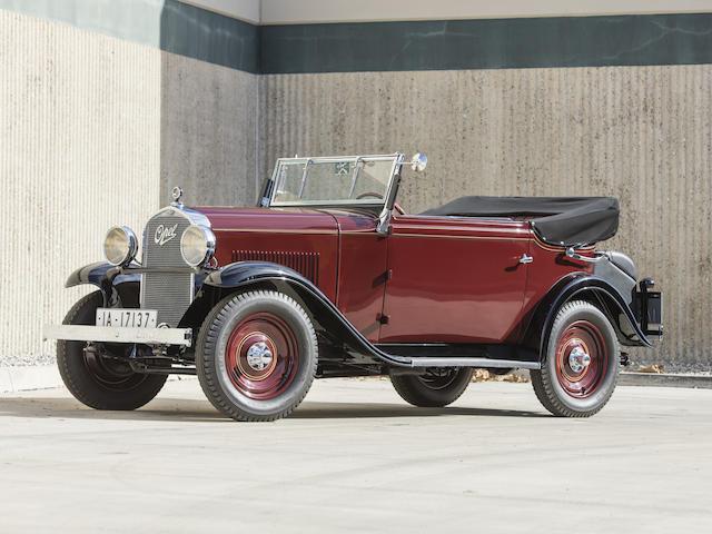 1932 オペル 18C リージェント