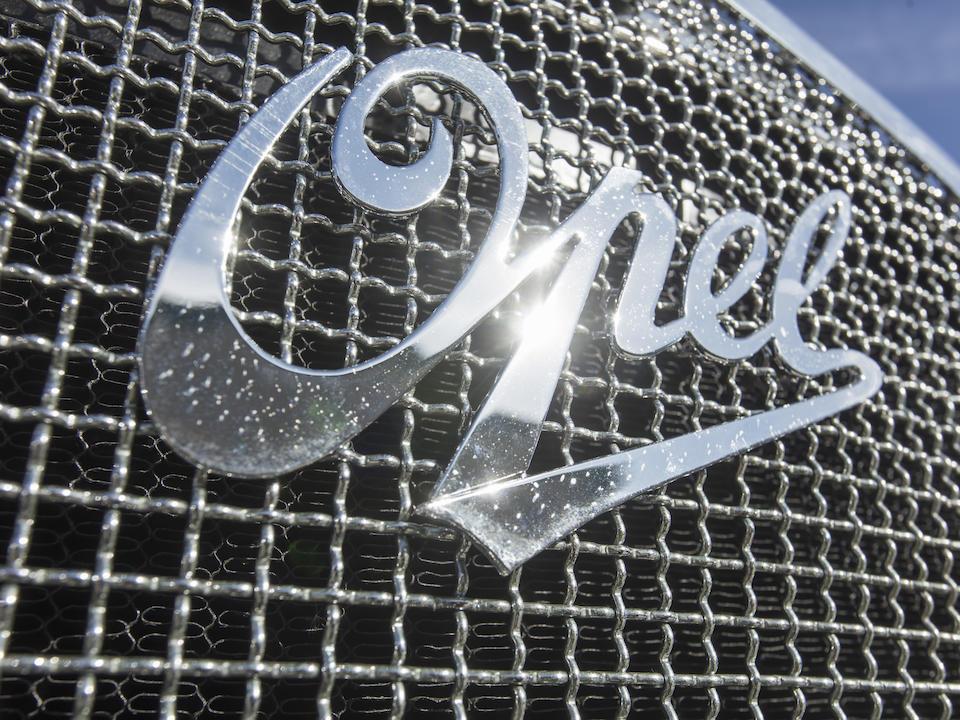 <b>1932 Opel 18C Regent</b><br />Chassis no. 17137