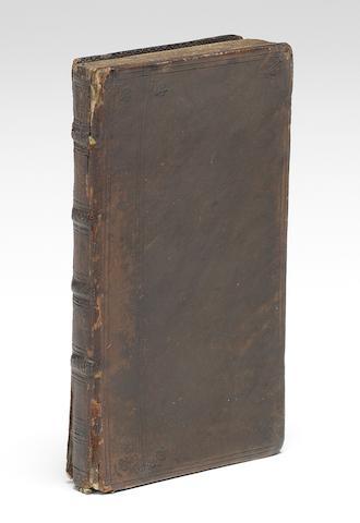HARVEY, WILLIAM.  1578-1657. Exercitationes duae anatomicae de circulatione sanguinis. Rotterdam: Arnold Leers, 1649.