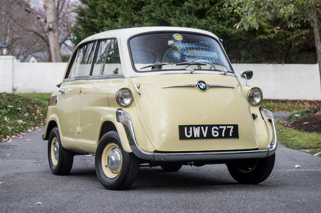 <b>1959 BMW Isetta 600</b><br />Chassis no. 148545