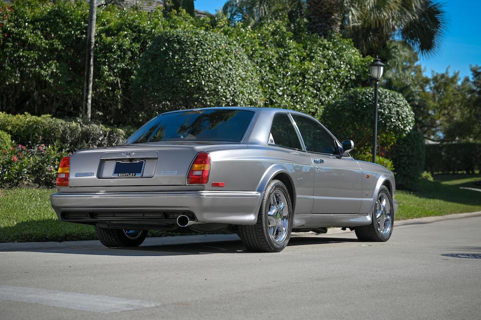 "<b>2000 Bentley Continental R Mulliner ""Wide-Body""</b><br />VIN. SCBZB26E8YCX63302"