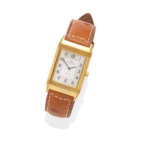 An 18k Gold Reverso Wristwatch, Jaeger-LeCoultre