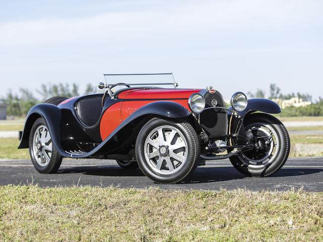 <b>1932 Bugatti Type 55 Super Sport Roadster</b><br />Chassis no. 55220<br />Engine no. 21