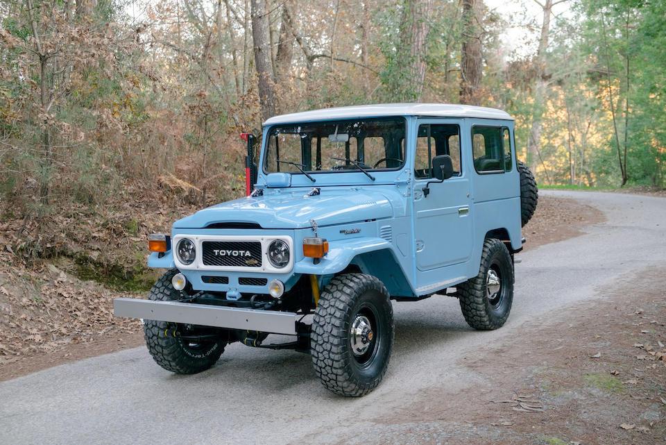 <b>1980 Toyota Land Cruiser BJ 40</b><br />Chassis no. BJ40-040920