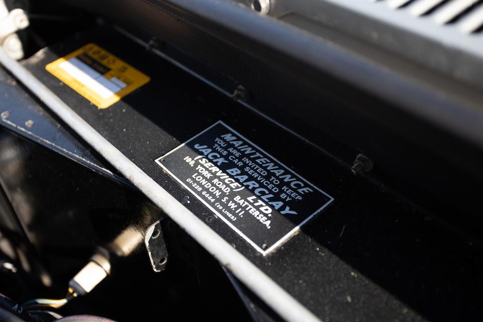 <b>1980 Rolls-Royce Corniche Convertible</b><br />Chassis no. DRH 0050380