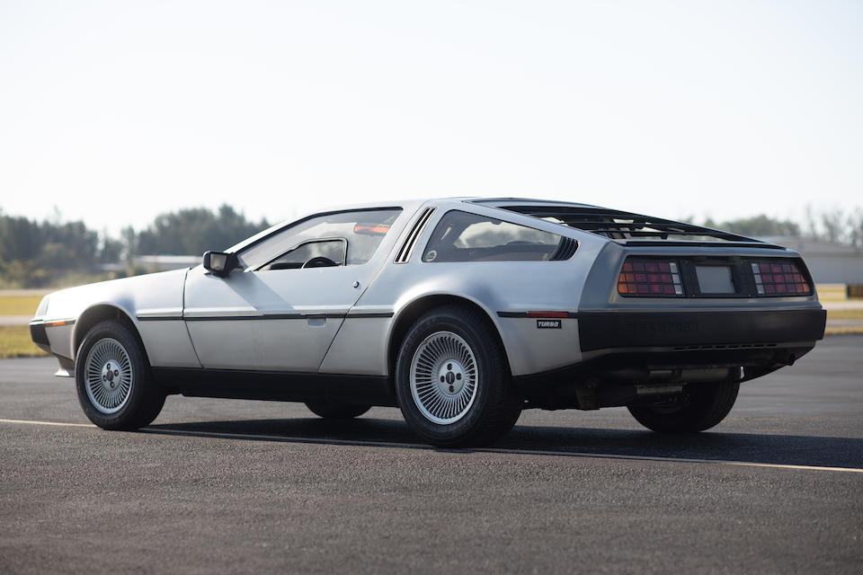 <b>1981 DeLorean DMC12</b><br />VIN. SCEDT26TXBD004239
