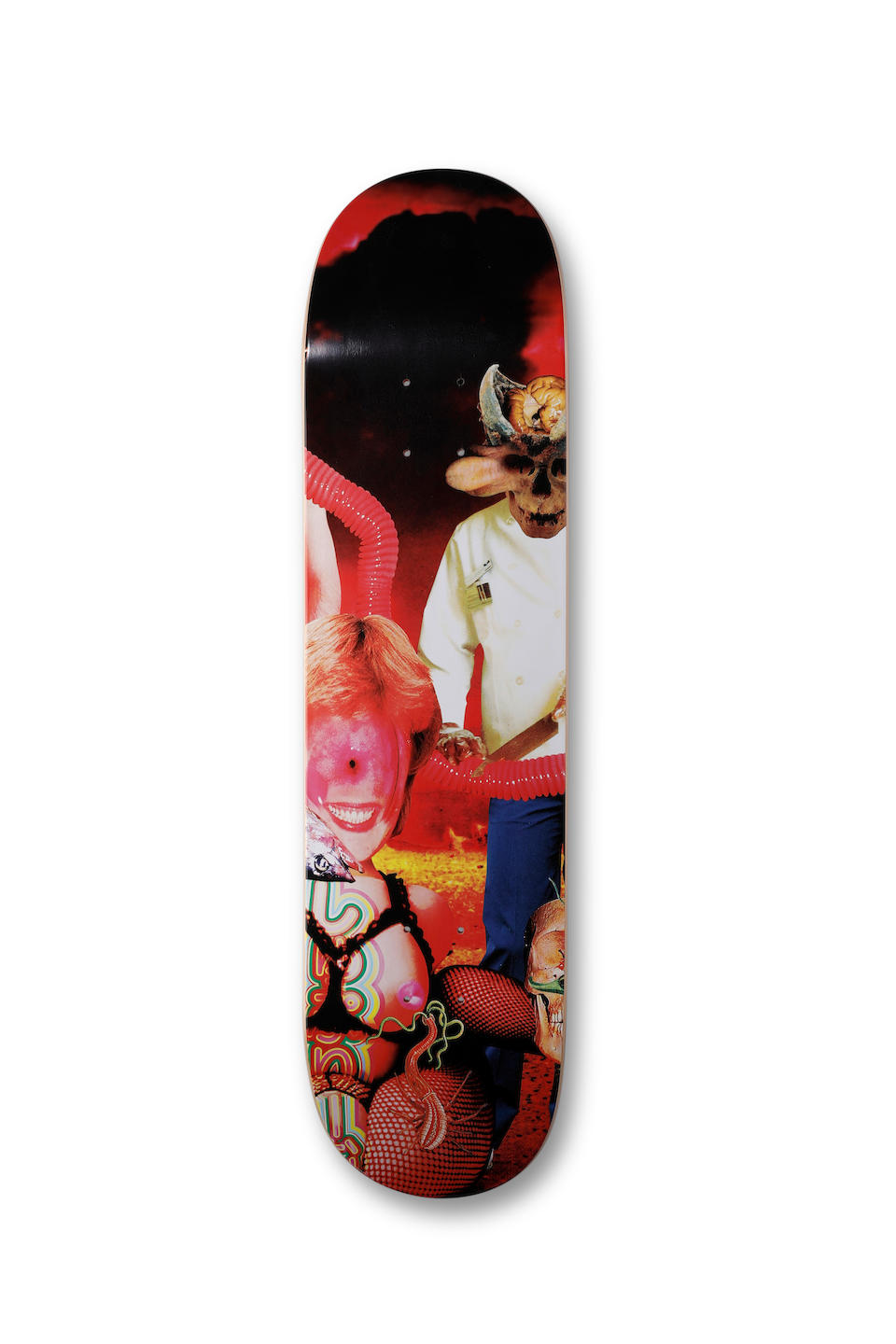Supreme, New York A collection of 152 full-sized Supreme skateboard decks, published by Supreme, New York between 2008-2019