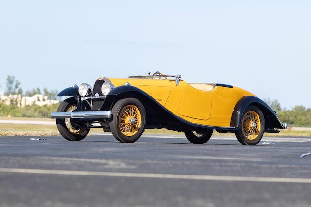 <b>1928 Bugatti Type 44 Cabriolet</b><br />Chassis no. 44857