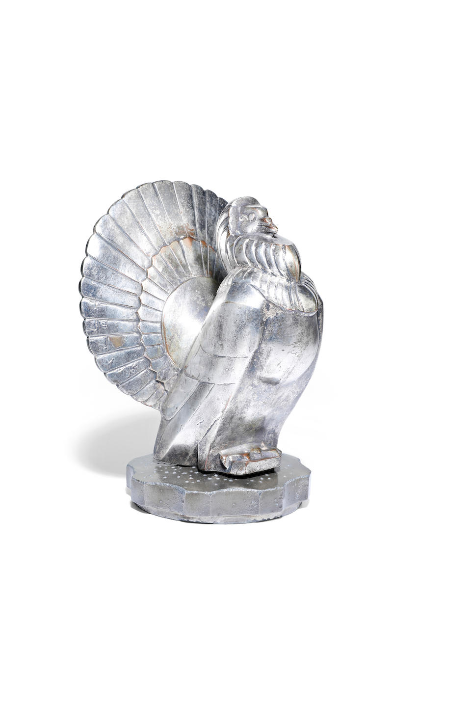 "A rare ""Fantail"" mascot by F. Bazin, French, 1920s,"