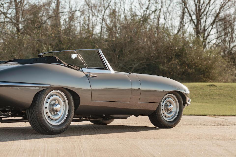 <b>1963 Jaguar E-Type Series 1 3.8 Roadster</b><br />Chassis no. 878510