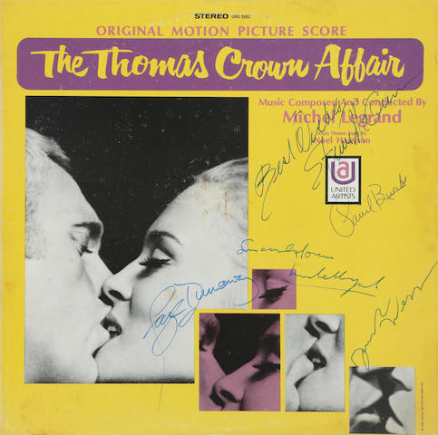 An Original Motion Picture Score record for The Thomas Crown Affair,