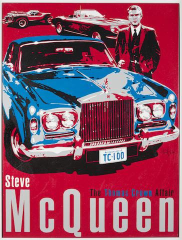 A 2013 Nicholas Hunziker The Thomas Crown Affair print,