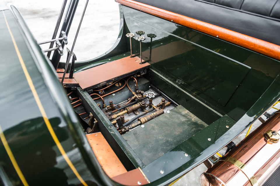 <b>1908 Stanley Steamer 10hp EX Runabout</b><br />Chassis no. 4108