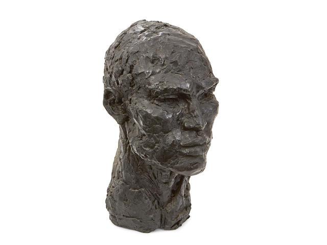 Artis Lane (born 1927)Head of a Man  20th century