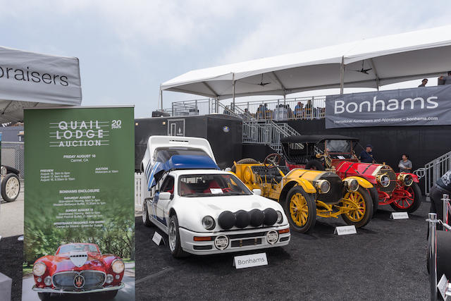 Two Entry Tickets and Drivers' Club Lunchtime and Viewing Passes to the Bonhams' Sponsored Monterey Pre-Reunion Race Event