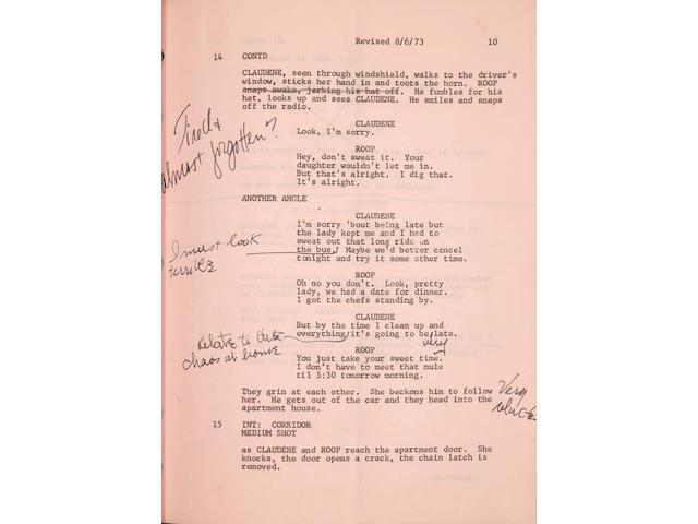 A Claudine working script