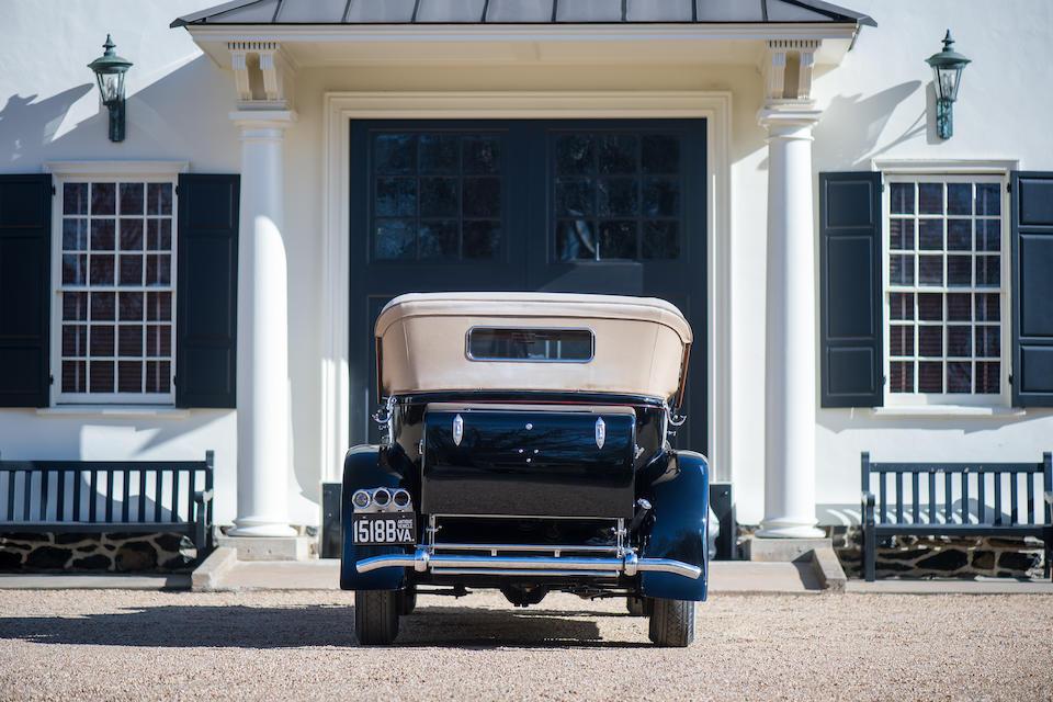 <b>1929 Rolls-Royce Phantom I Sports Phaeton</b><br />Chassis no. S 287 FP<br />Engine no. 22877