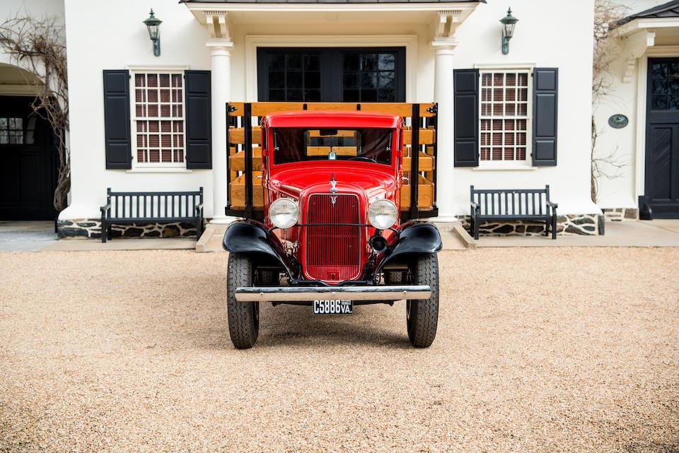 <b>1934 Ford Model BB Platform Truck</b><br />Chassis no. BB 18974506