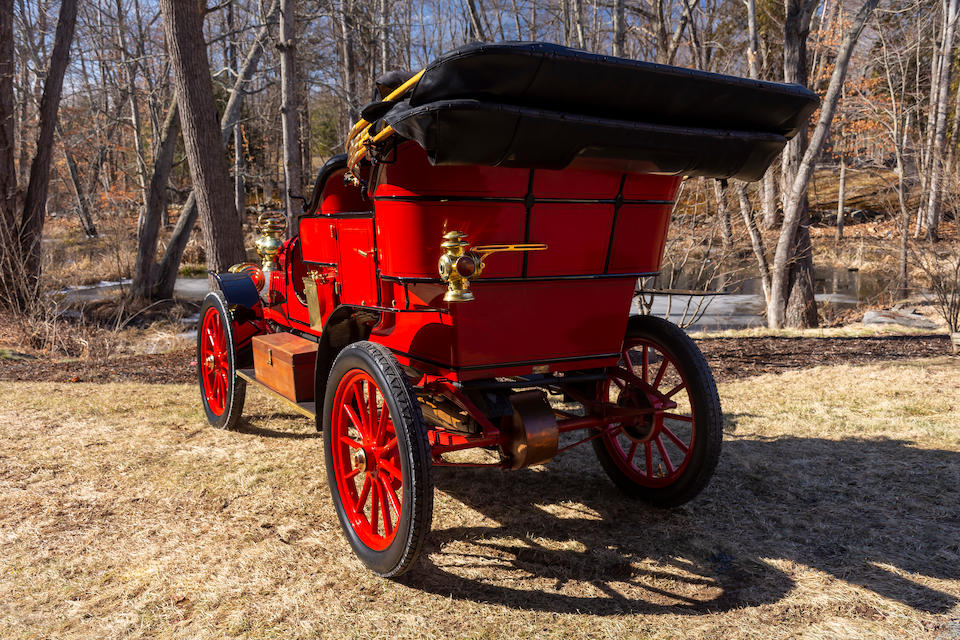 <b>1908 Stanley Model F 20HP Touring Car</b><br />Chassis no. 3899<br />Engine no. F-862