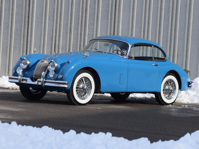 <b>1960 Jaguar XK150 3.8 Fixed Head Coupe</b><br />Chassis no. S847017<br />Engine no. VA2162-8