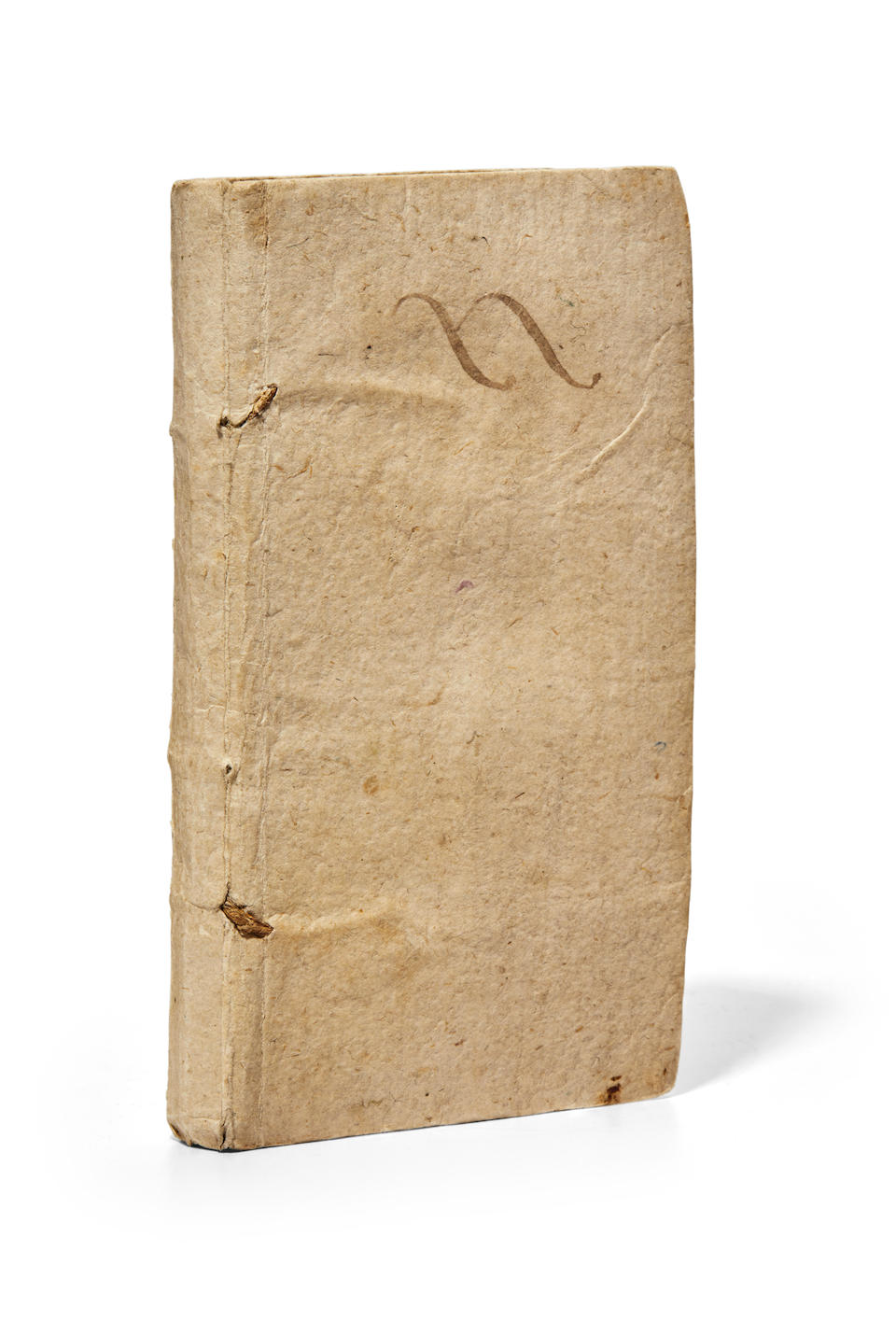 HARVEY, WILLIAM.  1578-1657. De Motu Cordis et Sanguinis in Animalibus Anatomica Exercitatio. Padua: Sebastian Sardum 1643.