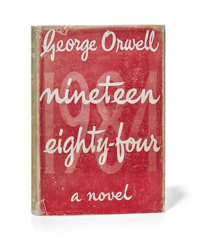 ORWELL, GEORGE. 1903-1950. Nineteen Eighty-Four. London: Secker & Warburg, 1949.