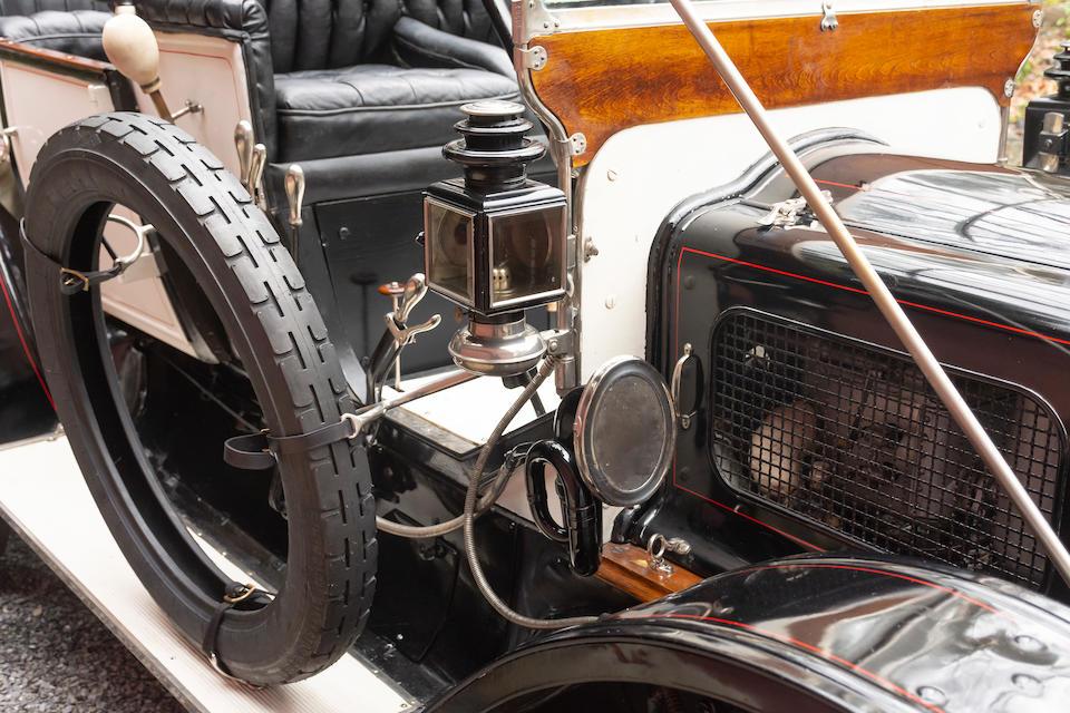 <b>1910 White Model 0-0 5-Passenger Touring</b><br />Chassis no. 10347<br />Engine no. 1070