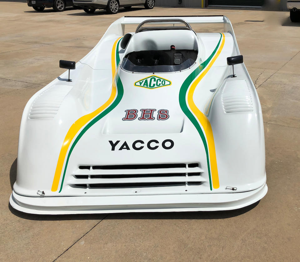 <b>1980 Toj 206 SC Sports Racer</b><br />Chassis no. 206 SC 001