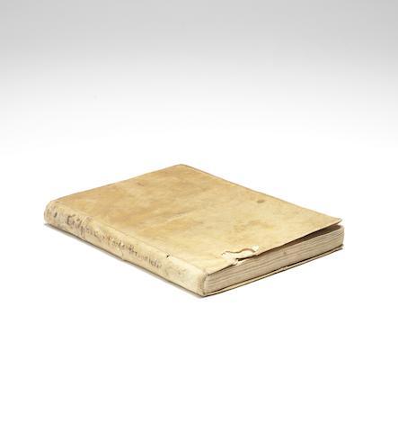 CESALPINO, ANDREA. 1519-1603. Peripateticarum Quaestionum Libri Quinque. Venice: Giunta, 1571.