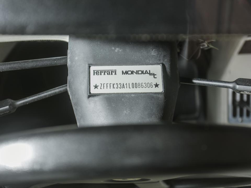<b>1990 Ferrari Mondial T Cabriolet</b><br />VIN. ZFFFK33A1L0086306