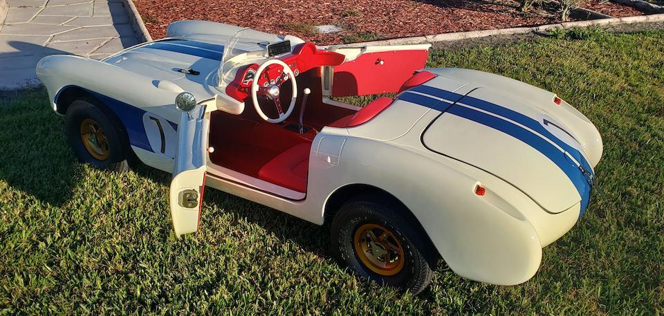 1956 Chevrolet Corvette Sebring Special gas powered 2/3 scale child's car,