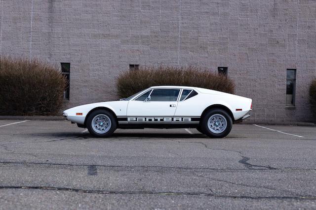 <b>1971 DeTomaso Pantera</b><br />Chassis no. THPNLM02259