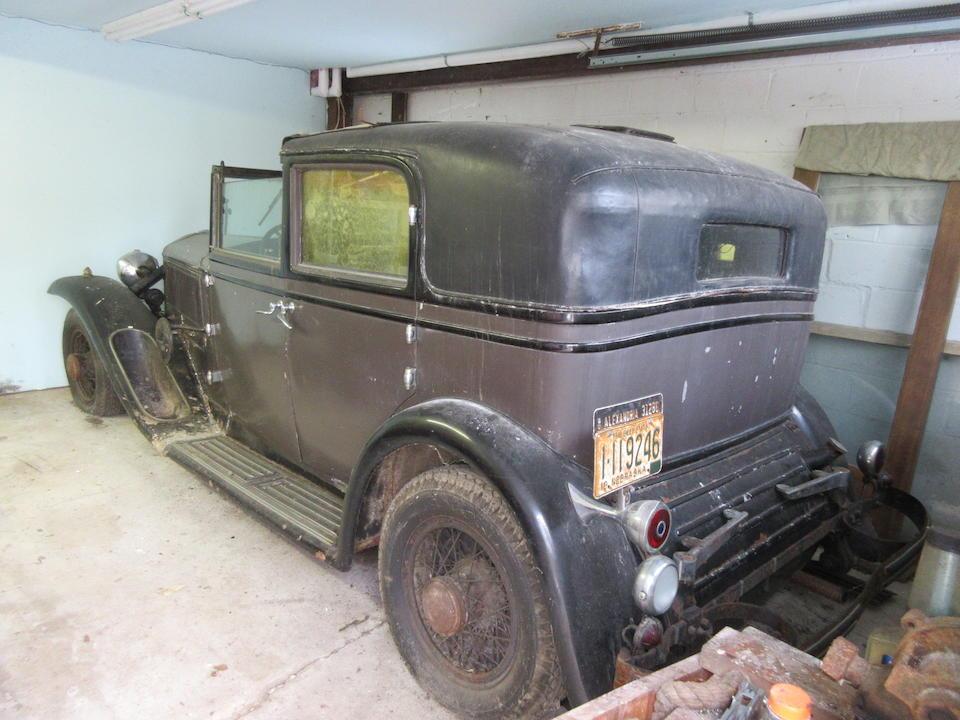 <b>1932 Lancia Dilambda Town Car</b><br />Chassis no. 27-934 <br />Engine no. 1031