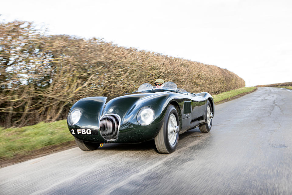 <b>1952 Jaguar C-Type Sports Racing Two-Seater</b><br />Chassis no. XKC 014<br />Engine no. E-1014-8