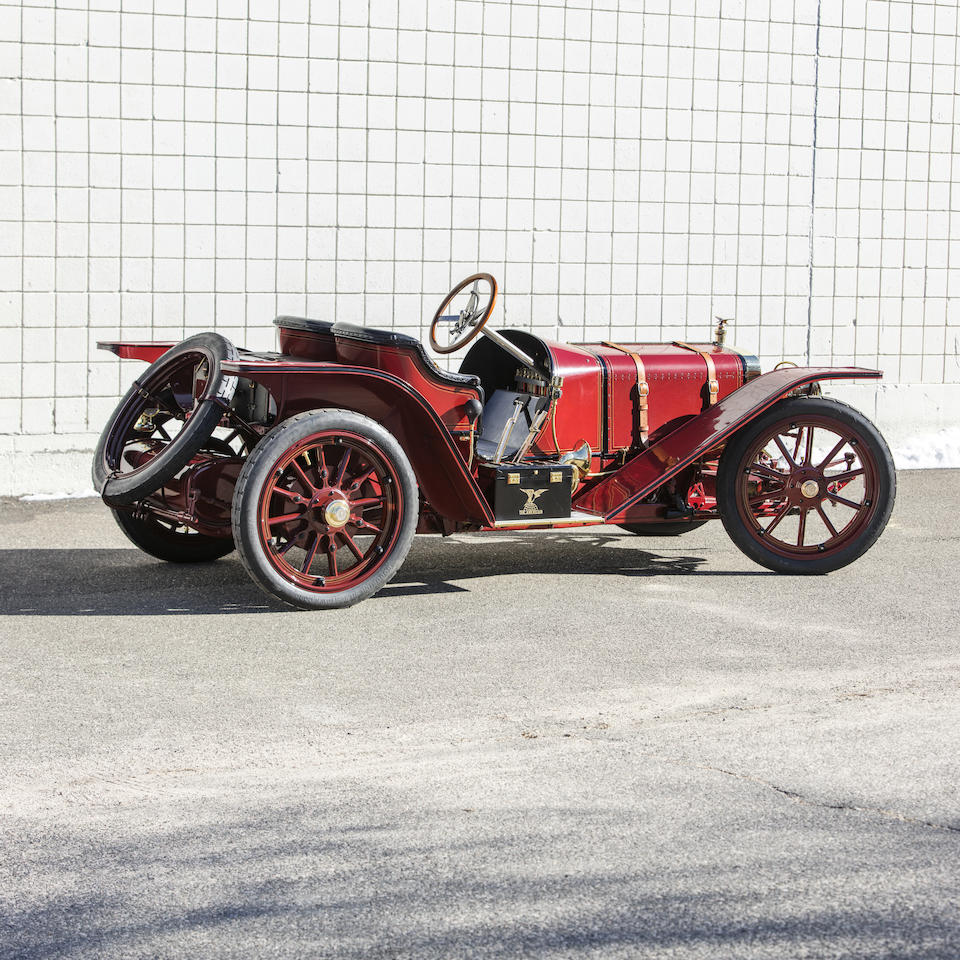 <b>1907 American Underslung 50hp Roadster</b><br />Engine no. 1402