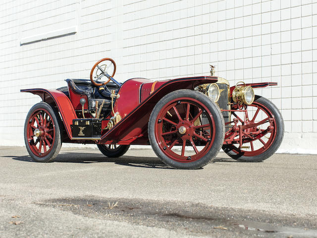 <b>1907 American Underslung 50hp Roadster</b><br />Engine no. 1402