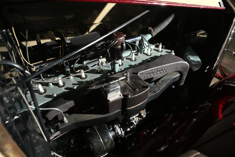 <B>1931 Pierce-Arrow Model 42 Dual Cowl Sport Phaeton</B><br />Chassis no. 1025047