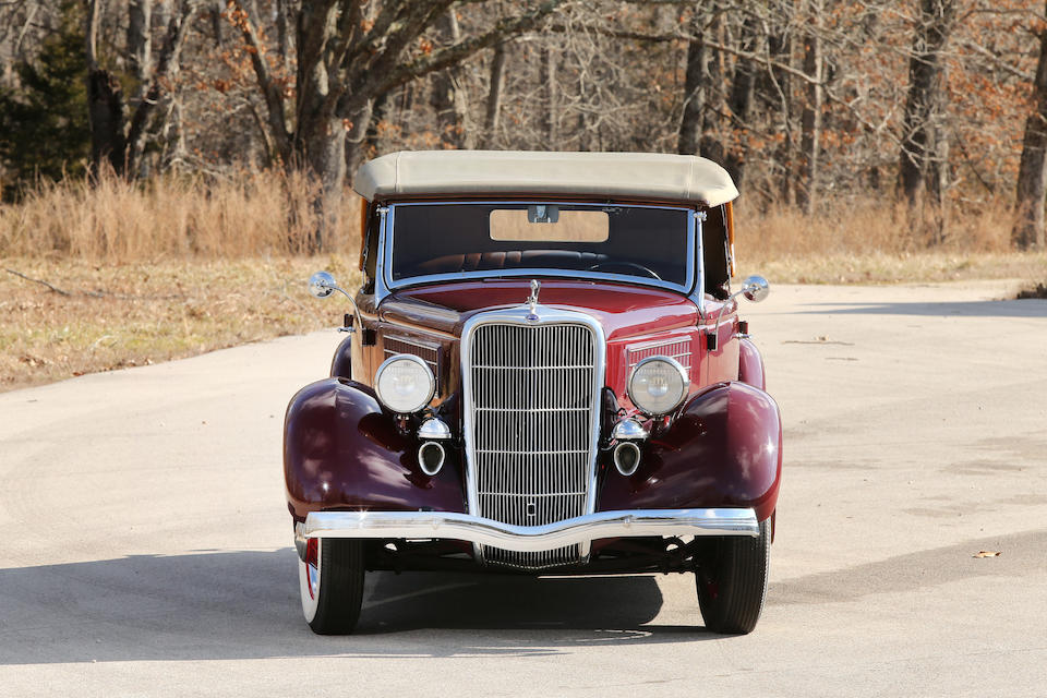 <b>1935 Ford Model 48 Deluxe Phaeton</b><br />Chassis no. 181597651