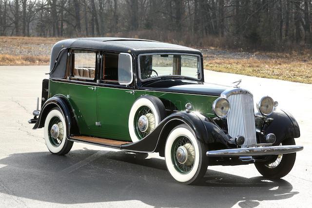 1935 ハンバー スナイプ 80 サルーン
