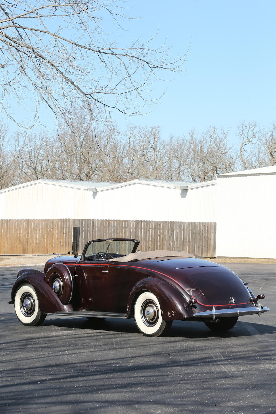 <b>1937 Lincoln Model K Coupe Roadster</b><br />Chassis no. A35089