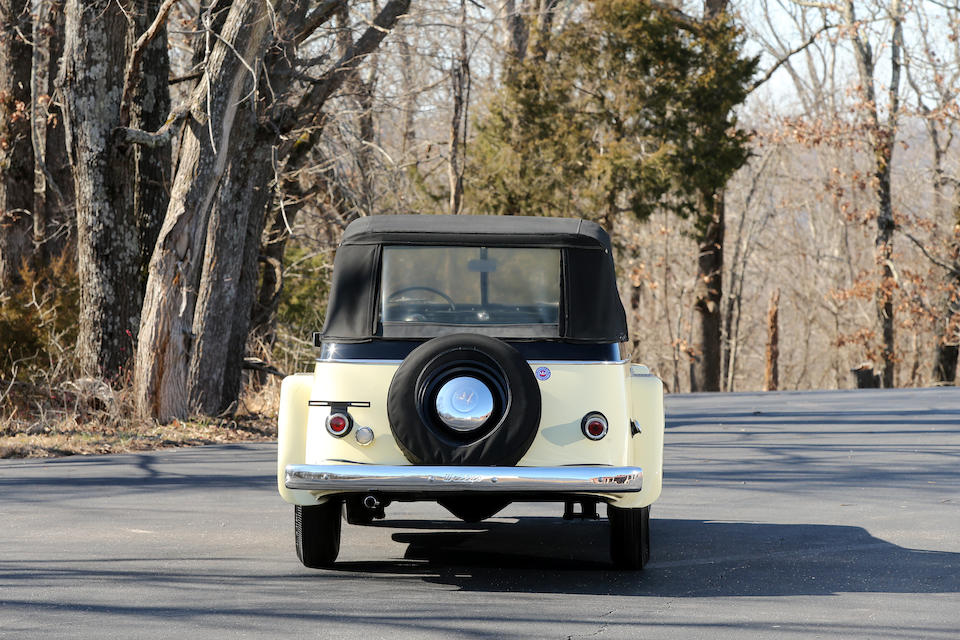 <b>1950 Willys Jeepster Phaeton</b><br />Chassis no. 1S14274