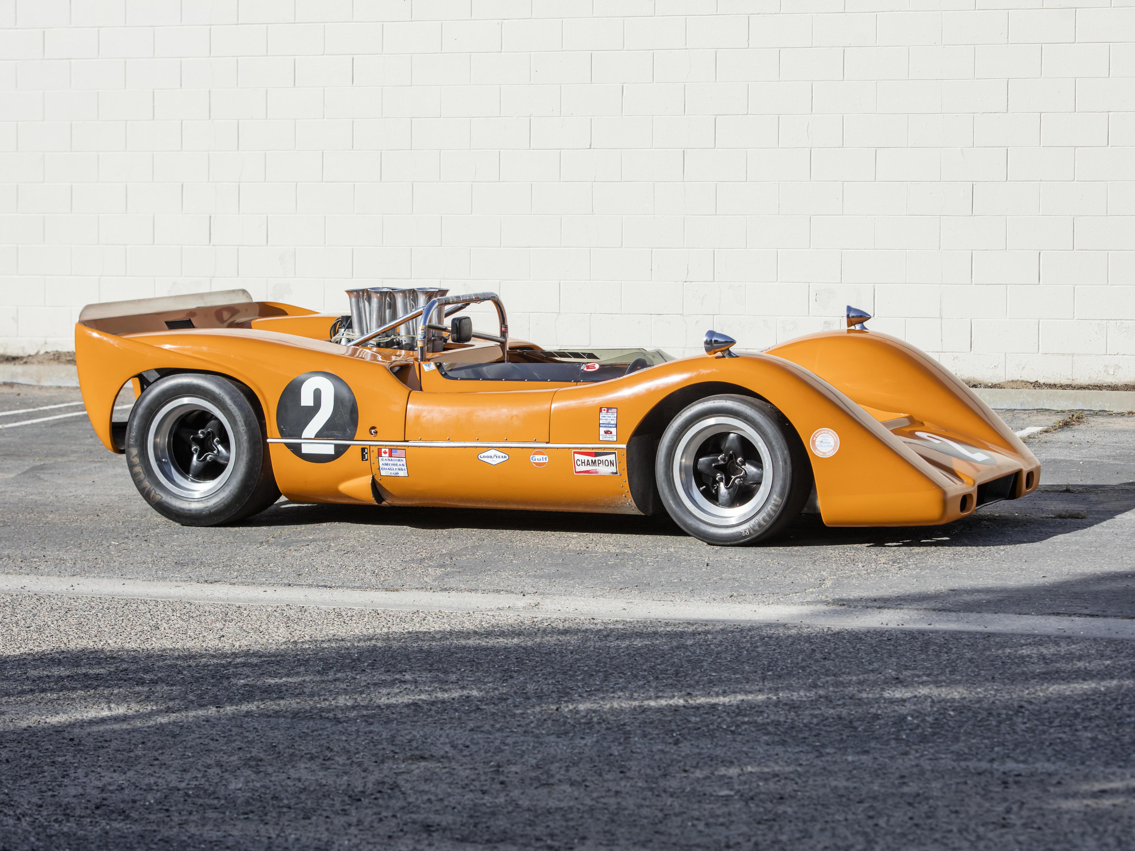<b>1968 McLaren M6B-50  </b><br />Engine no. LG500-271