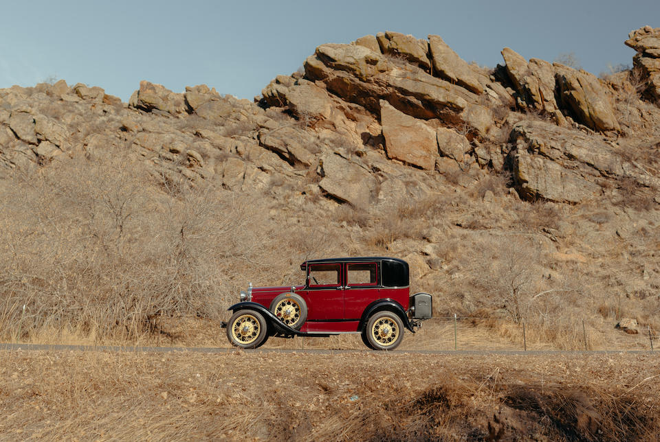 """<b>1930 Ford Deluxe Model A """"Blind Back""""</b><br />Chassis no. 9746COLO"""
