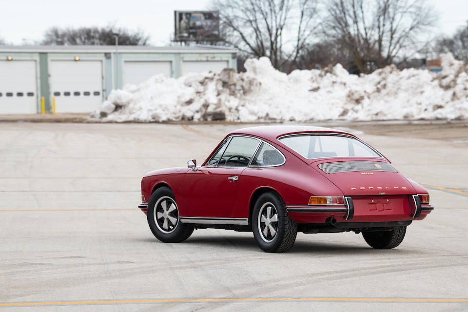 <b>1968 Porsche 911S Coupe</b><br />Chassis no. 11800561 <br />Engine no. 4080688