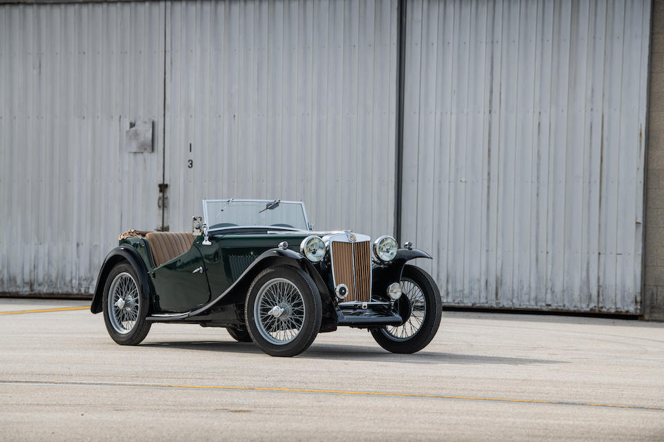 <b>1945 MG TC Midget Two Seater Sports</b><br />Chassis no. TC 0275<br />Engine no. 719